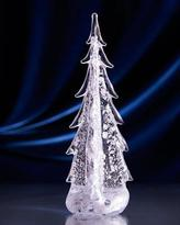 "Simon Pearce Sterling Silver-Leaf Evergreen 14"" Tree"