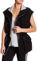Norma Kamali Sleeveless Cargo Jacket