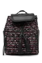 Tory Burch Fleming Tweed Backpack