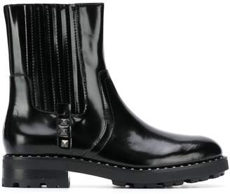 Ash patent ankle boots