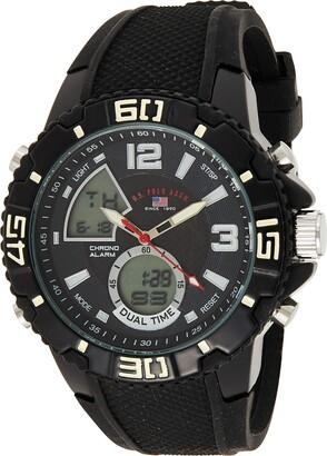 U.S. Polo Assn. Sport Men's US9479 Analog-Digital Display Analog Quartz Black Watch