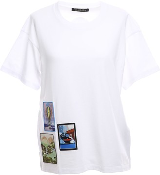 Mr & Mrs Italy Regular T-shirt With Embroidered Patches