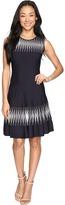 Nic+Zoe Petite Breaking Waves Twirl Dress