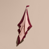 Burberry Print Cashmere Blend Scarf