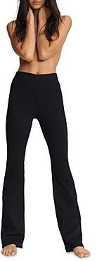 Rag & Bone Nina Pull On Flare Jeans in Black