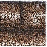 Givenchy leopard print scarf