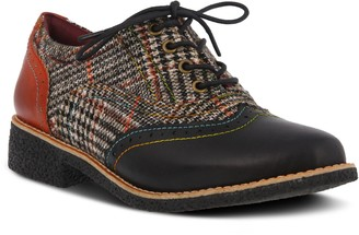 Spring Step L'Artiste Leather Lace-up Oxfords - Muggiasti