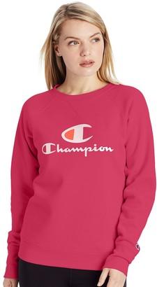 Champion Women's Powerblend Fleece Crewneck Sweatshirt