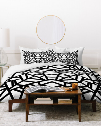 Deny Designs Elisabeth Fredriksson Bold Mosaic Sun Duvet Cover Set