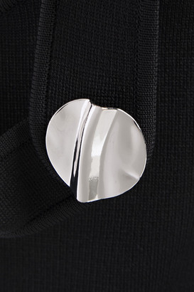 3.1 Phillip Lim Button-embellished Cutout Ponte Mini Dress