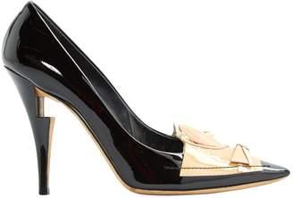 Louis Vuitton Black Patent leather Heels