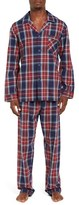 Majestic International Men's Holiday Essential Flannel Pajama Set