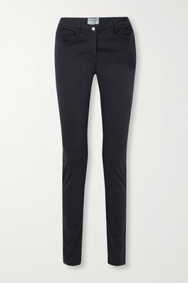 JAMES PURDEY & SONS Mid-rise Slim-leg Jeans - Navy