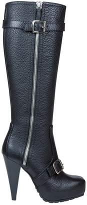 Proenza Schouler Black Leather Boots