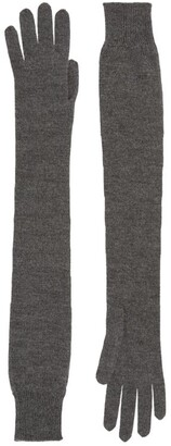 The Row Cashmere-Silk Besede Gloves