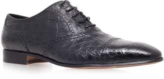 Stemar Crocodile Oxford Shoes