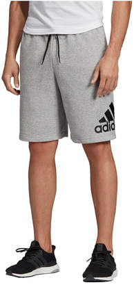 """adidas Men Badge of Sport 10"""" French Terry Short"""