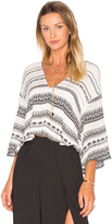 The Jetset Diaries Mosaic Stripe Top