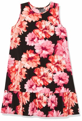 Tiana B T I A N A B. Women's Floral Jersey a-line Swing Dress
