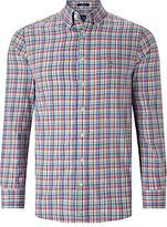 Gant Madras Plaid Regular Fit Shirt, Blue Multi
