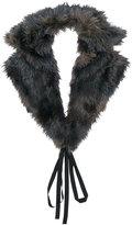 MM6 MAISON MARGIELA classic fur scarf