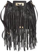 Calvin Klein Fringe Bucket Bag