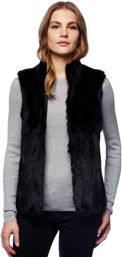 Michael Kors Rabbit Fur Vest