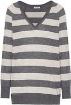 Equipment Asher striped cashmere-blend sweater