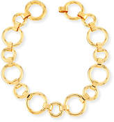 Vita Fede Moneta Circle Link Choker Necklace