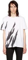 Saint Laurent White Flame T-shirt