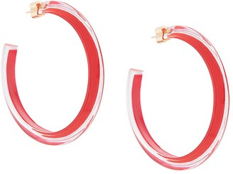 Alison Lou Jelly hoop earrings