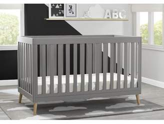Delta Children Essex 4-in-1 Convertible Crib Delta Children Color: Grey with Natural Legs