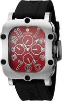 Croton Watches CROTON Men's CN307529BSRD INDUSTRIAL Analog Display Quartz Black Watch