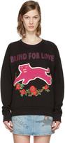 Gucci Black Embroidered Pullover