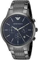 Emporio Armani Men's AR2505 Dress Gunmetal Quartz Watch