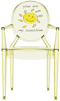 Kartell Children's Lou Lou Ghost Chair - Sun