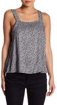 RVCA Ayles Rose Patterned Tank