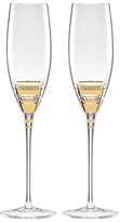 Kate Spade Hampton Street Champagne Flute Glasses (Set of 2)