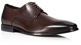 HUGO BOSS Men's Highline Derby Plain Toe Oxfords - 100% Exclusive