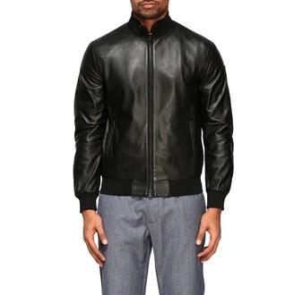 Emporio Armani Jacket Leather Bomber