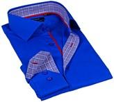 Levinas Solid Contemporary Fit Dress Shirt