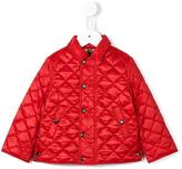 Burberry diamond quilted jacket - kids - Cotton/Polyester/Cupro - 6 mth
