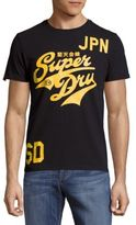 Superdry Stacker Entry Printed Cotton Tee