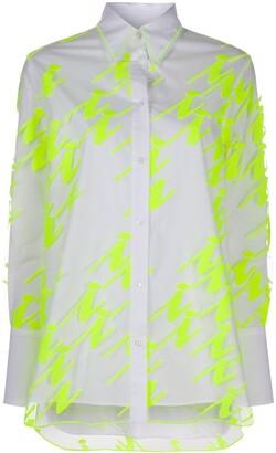 Iceberg Neon Panel Shirt