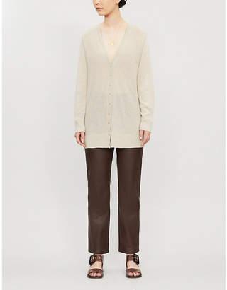 Theory Dolman cashmere-knit cardigan