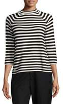 Marc Jacobs Striped Mockneck Sweater