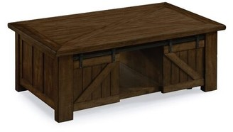 August Grove Solid Wood Lift Top Coffee Table with Storage