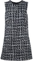 Dolce & Gabbana bouclé shift dress - women - Silk/Cotton/Acrylic/Wool - 48