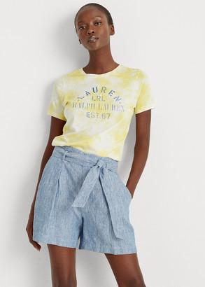 Ralph Lauren Tie-Dye Cotton-Blend Tee