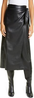 Nanushka Amas Long Satin Skirt